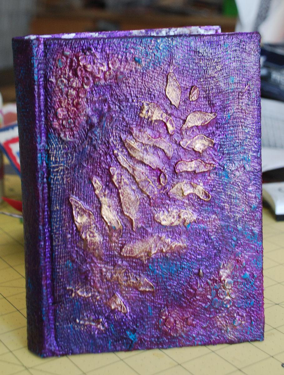 Book Cover Watercolor Artist : The art of sharon kennick book binding